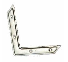 Угловой соединитель мебельный USM-70х70х15